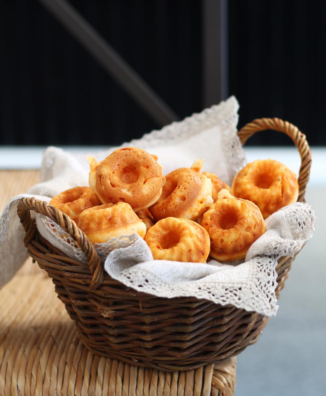 Mini savarin senza glutine alla nduja - La Cassata Celiaca