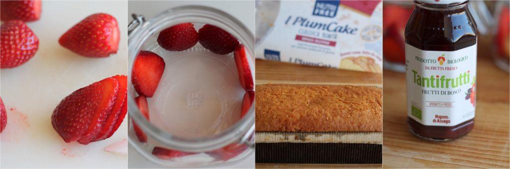 Fragolata senza glutine in vasetto - La Cassata Celiaca