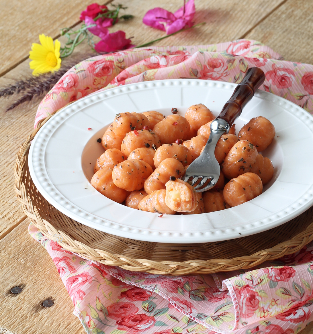 Gnocchis roses sans gluten - La Cassata Celiaca