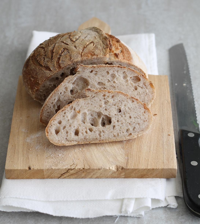 Pain sans gluten aux graines de lin - La Cassata Celiaca