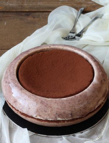 Torta senza glutine ciocco-nocciola - La Cassata Celiaca