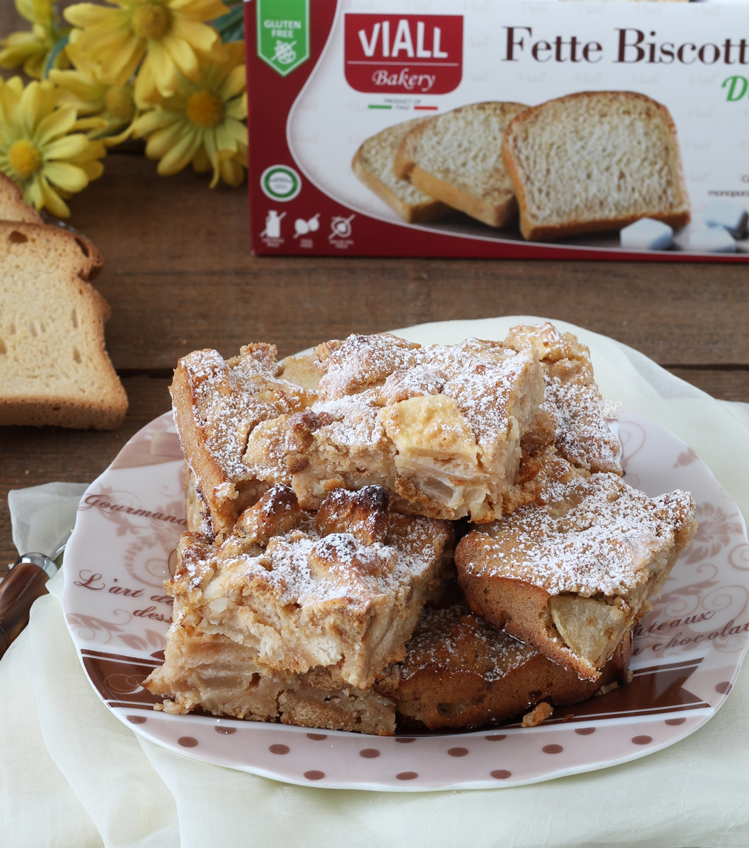 Torta senza glutine alle mele - La Cassata Celiaca