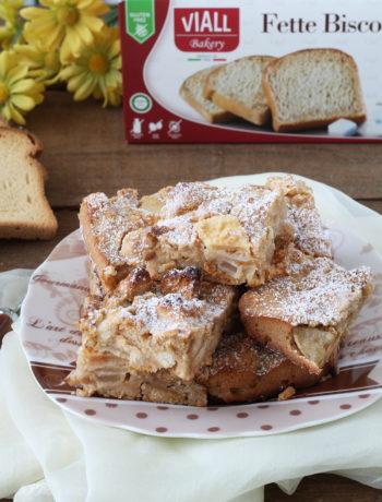 Torta senza glutine di mele e fette biscottate - La Cassata Celiaca