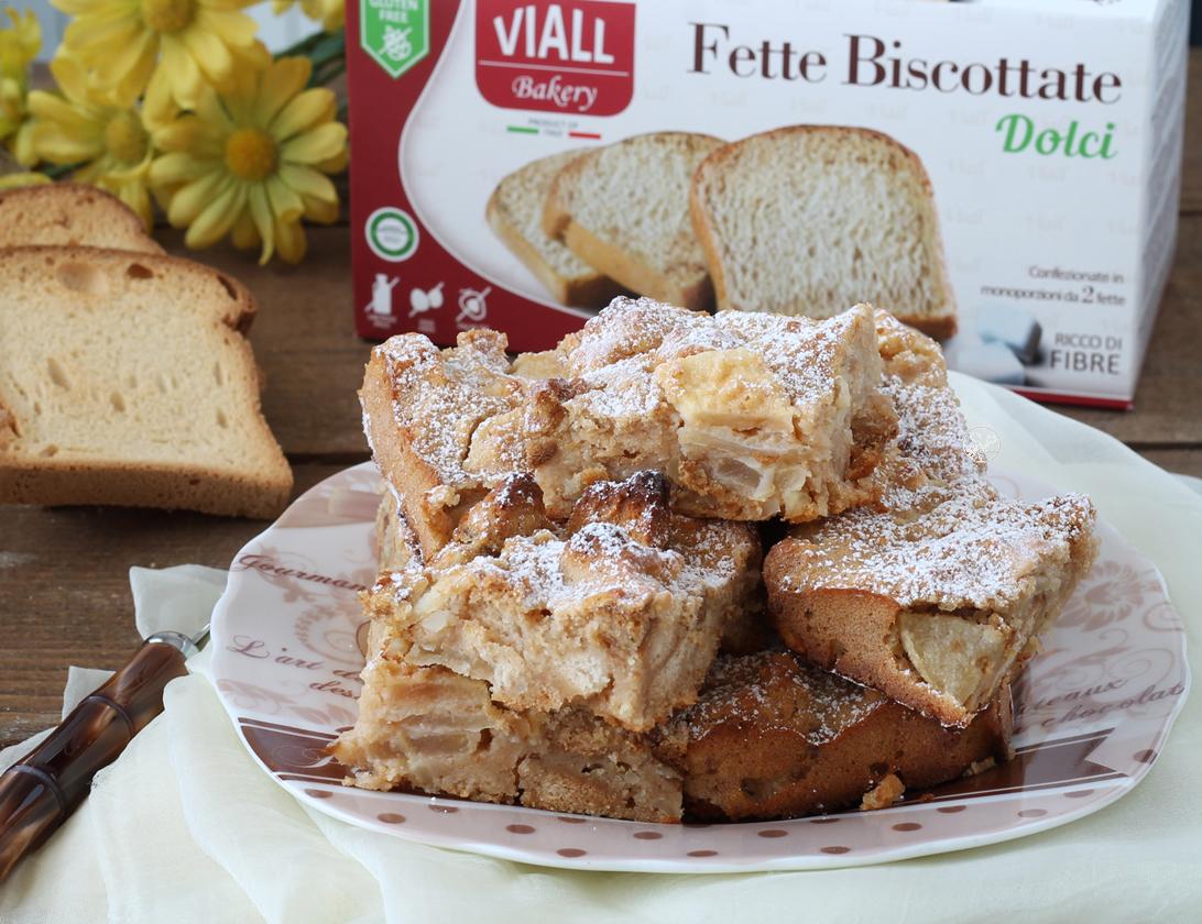 Gâteau aux pommes - La Cassata Celiaca