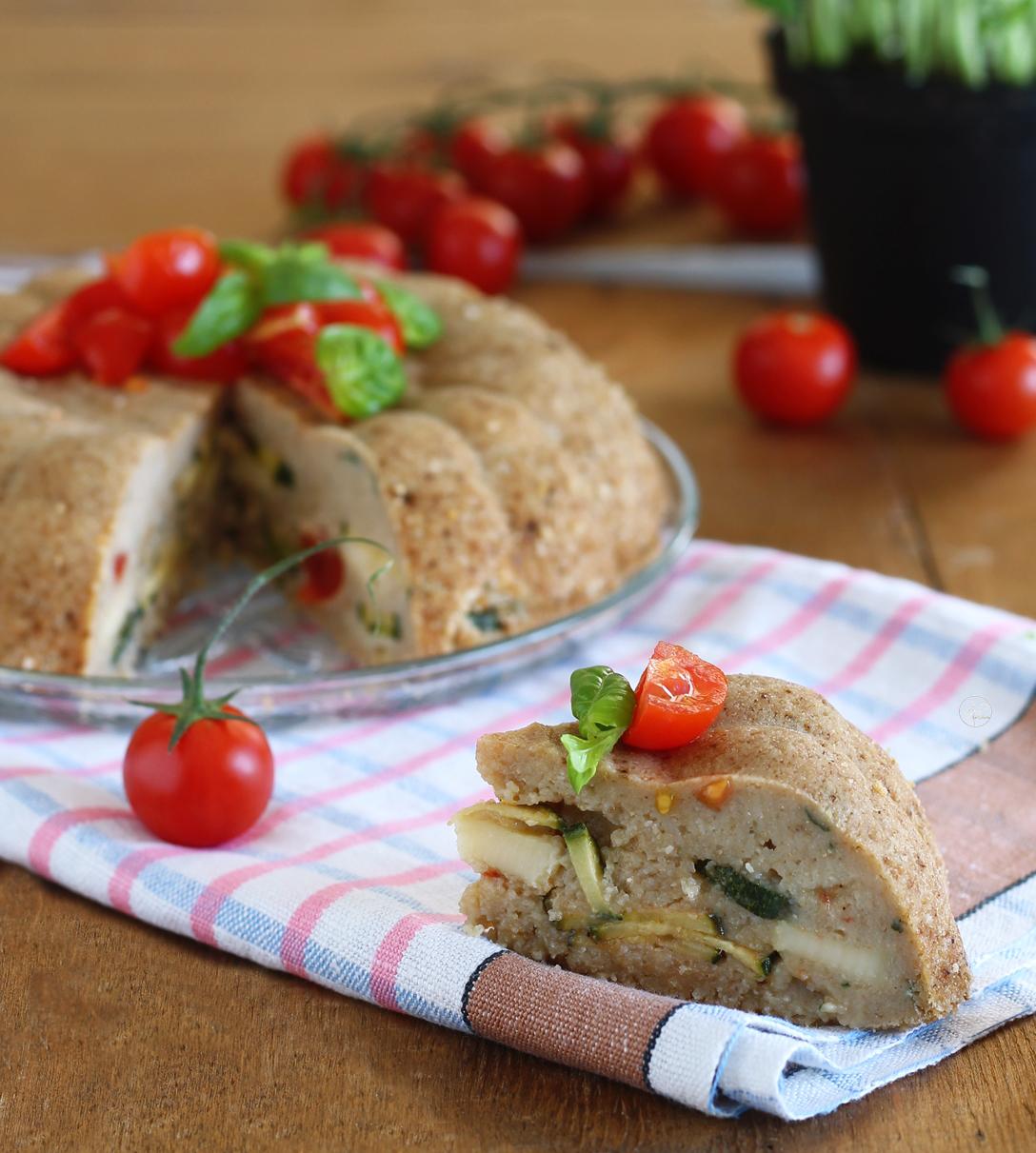 Torta di pane e zucchine senza glutine - La Cassata Celiaca