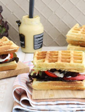 Waffel senza glutine con farina di piselli - La Cassata Celiaca