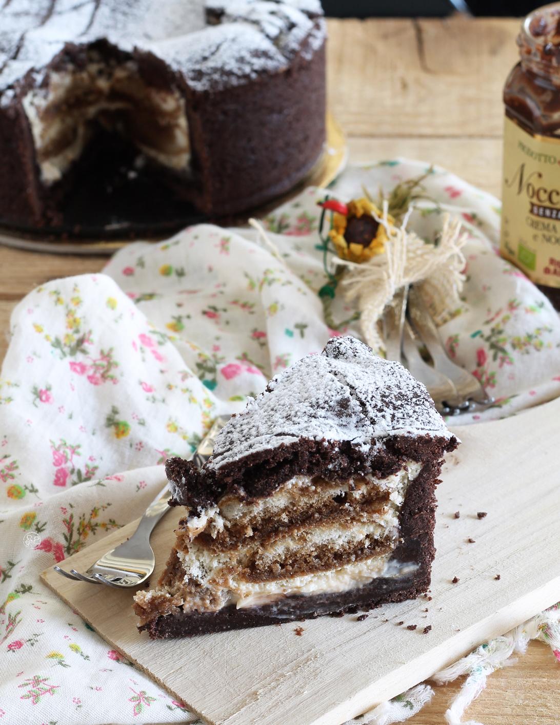Crostata tiramisù al cacao senza glutine- La Cassata Celiaca