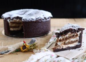 Tarte tiramisù au cacao sans gluten - La Cassata Celiaca