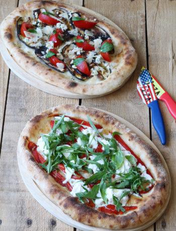 Pinsa sans gluten aux légumes - La Cassata Celiaca