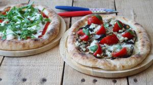 Pizza sans gluten aux légumes - La Cassata Celiaca