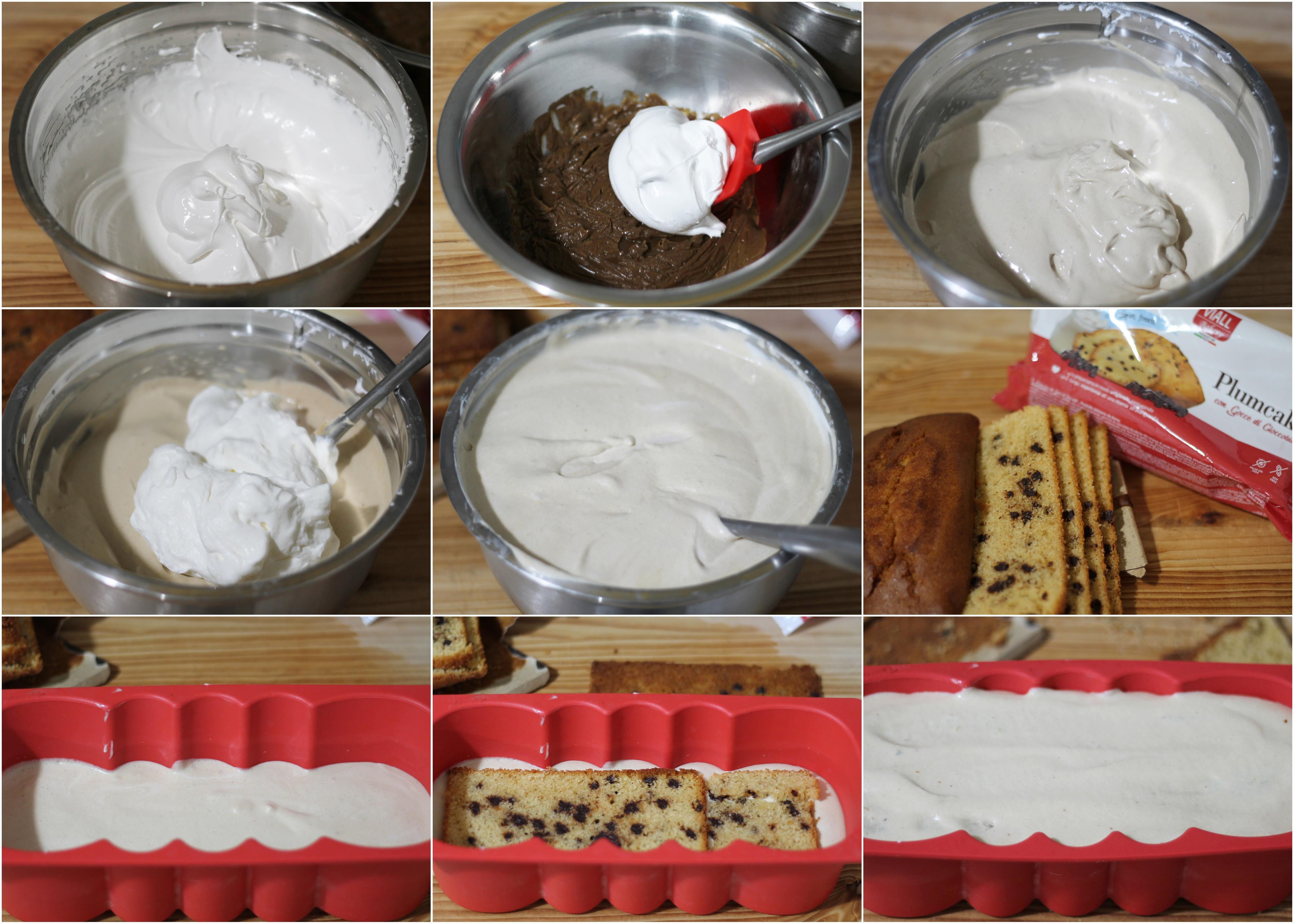 Tronchetto semifreddo al caffè senza glutine - La Cassata Celiaca