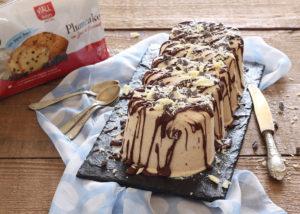 Bûche glacée au café sans gluten - La Cassata Celiaca