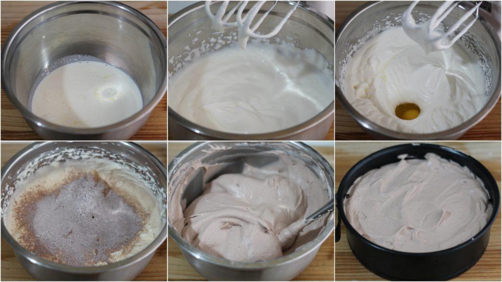 Pan di spagna al cacao senza glutine - La Cassata Celiaca