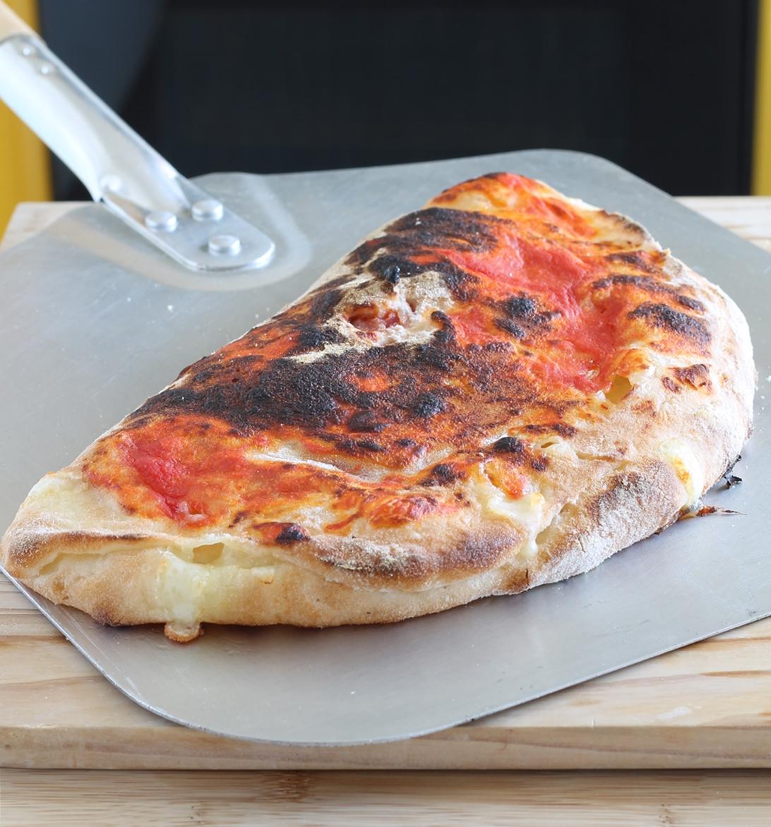 Calzone sans gluten avec les bords fourrés en vidéo - La Cassata Celiaca
