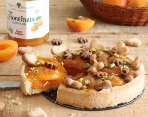 Tarte sans gluten avec abricots - La Cassata Celiaca