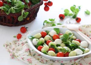Insalata di gnocchi verdi senza glutine - La Cassata Celiaca