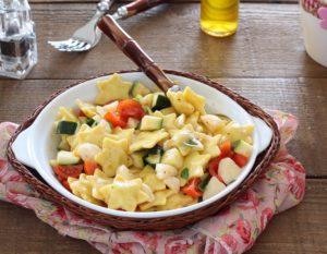 Salade de ravioli sans gluten - La Cassata Celiaca