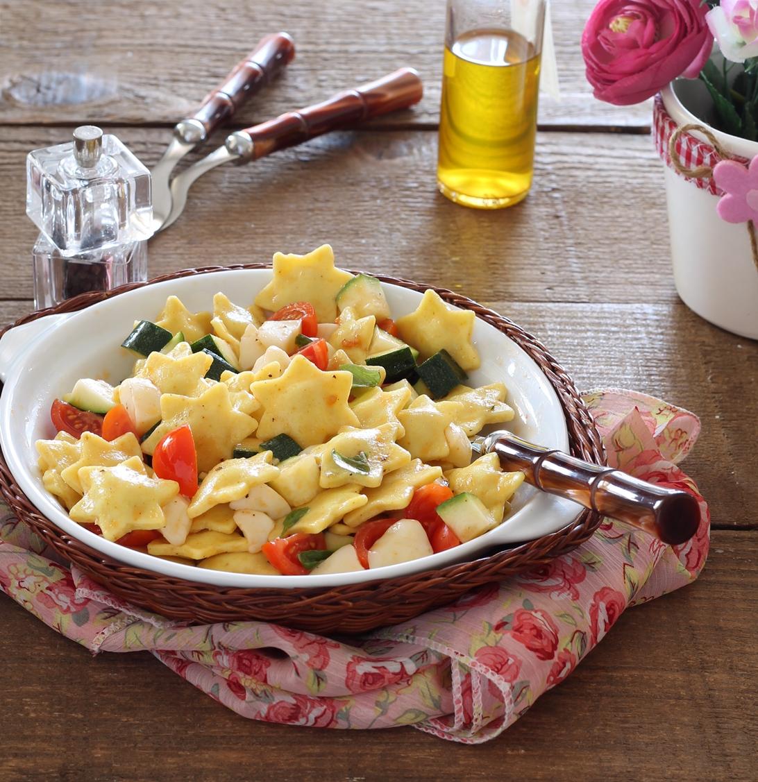 Salade de raviolis sans gluten - La Cassata Celiaca