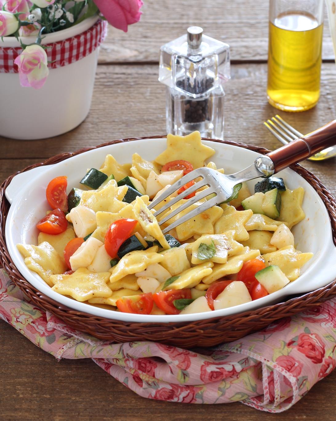 Insalata di ravioli senza glutine - La Cassata Celiaca