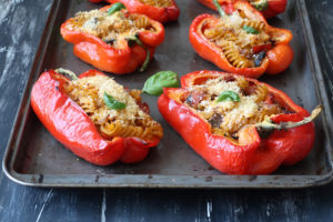 Peperoni ripieni di pasta senza glutine - La Cassata Celiaca