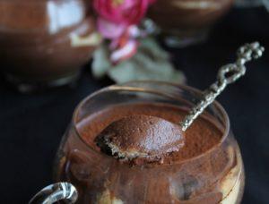 Tiramisù au chocolat sans gluten - La Cassata Celiaca