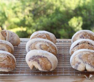 Petits pains tricolores sans gluten - La Cassata Celiaca