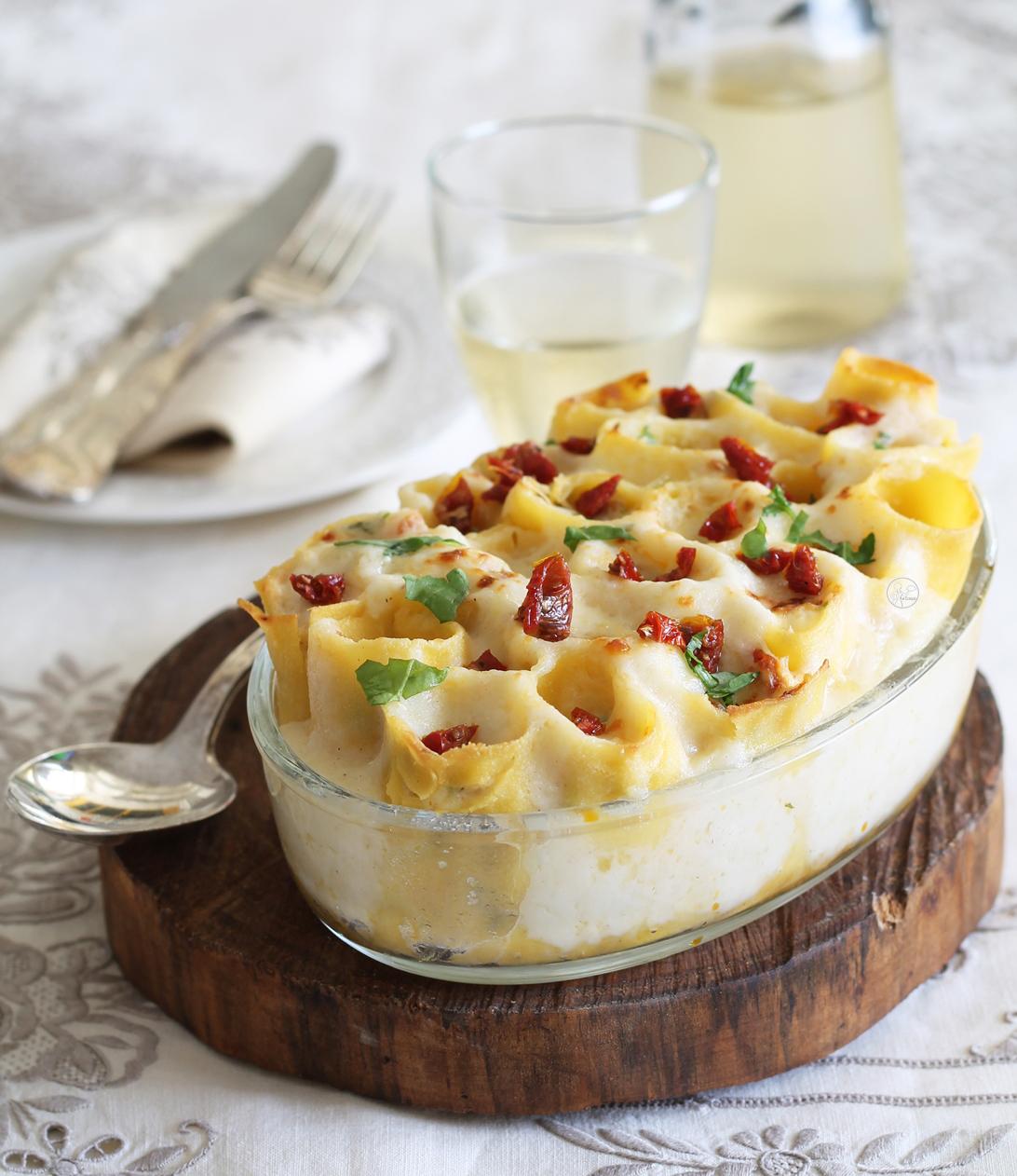 Cannelloni avec ricotta et roquette sans gluten - La Cassata Celiaca