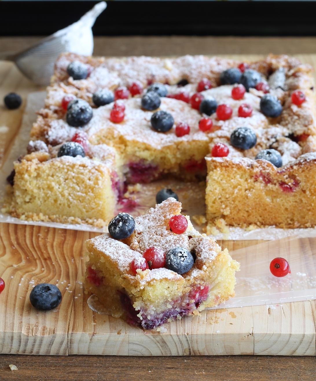 Crumb cake senza glutine e senza mix - La Cassata Celiaca