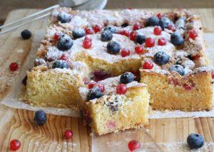 Crumb cake sans gluten et sans mix - La Cassata Celiaca