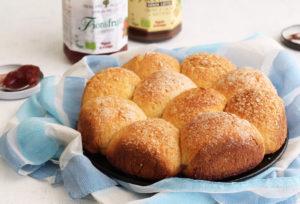 Brioche bigusto senza glutine - La Cassata Celiaca