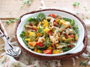 Insalata di pollo senza glutine - La Cassata Celiaca
