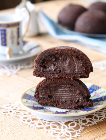 Pasticciotto au chocolat sans gluten - La Cassata Celiaca
