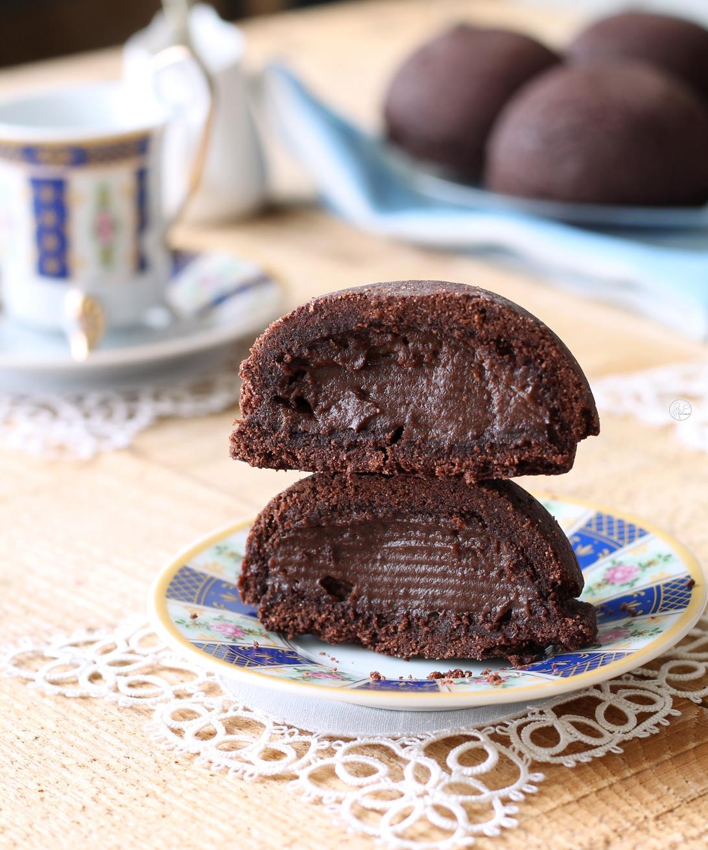 Pasticciotti al cioccolato senza glutine - La Cassata Celiaca