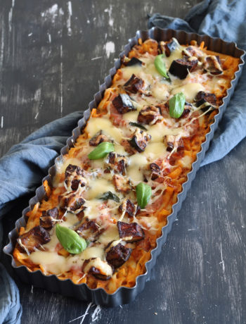 Fausse pizza de pâtes sans gluten - La Cassata Celiaca