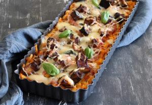 Finta pizza di pasta senza glutine - La Cassata Celiaca