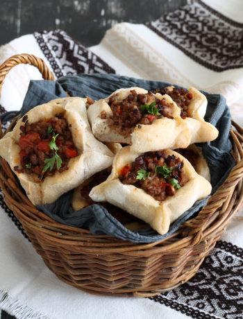 Sfiha libanaise sans gluten et sans lactose - La Cassata Celiaca