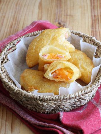 Calzoni di pasta sfoglia senza glutine con zucca e pancetta - La Cassata Celiaca