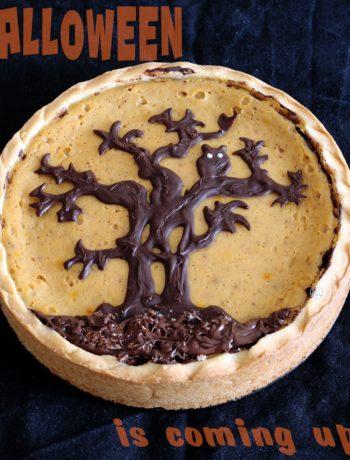 Crostata alla zucca senza glutine per Halloween - La Cassata Celiaca