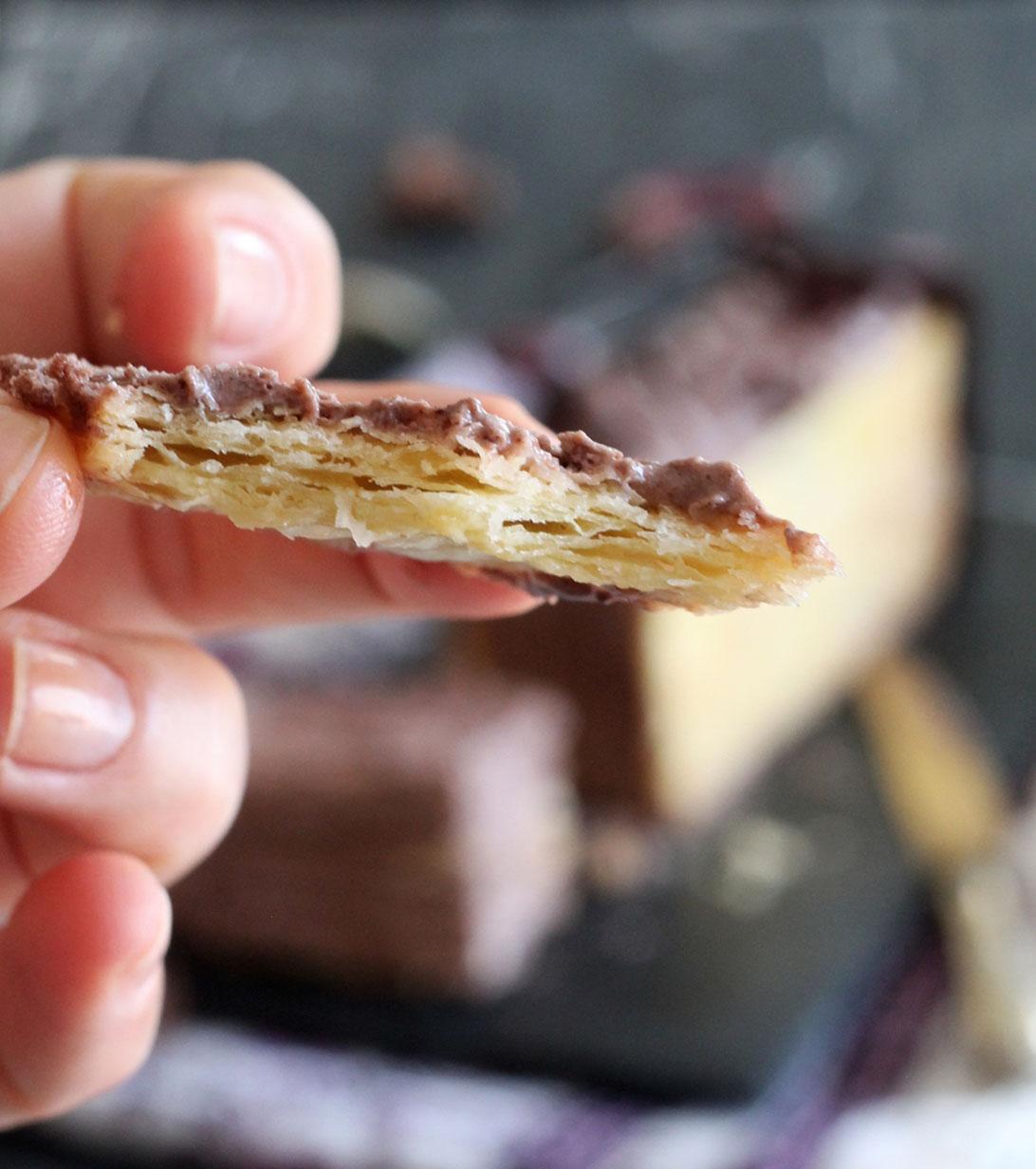 Millefoglie senza glutine al cacao - La Cassata Celiaca