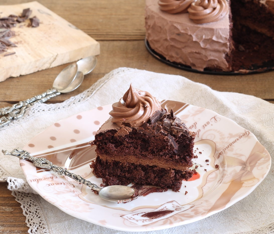 Molly cake al cioccolato senza glutine - La Cassata Celiaca
