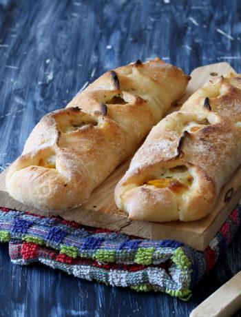 Baguettes de pizza sans gluten aux poivrons - La Cassata Celiaca