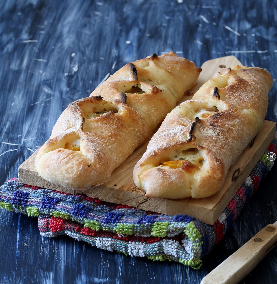 Sfilatini di pizza senza glutine ai peperoni - La Cassata Celiaca