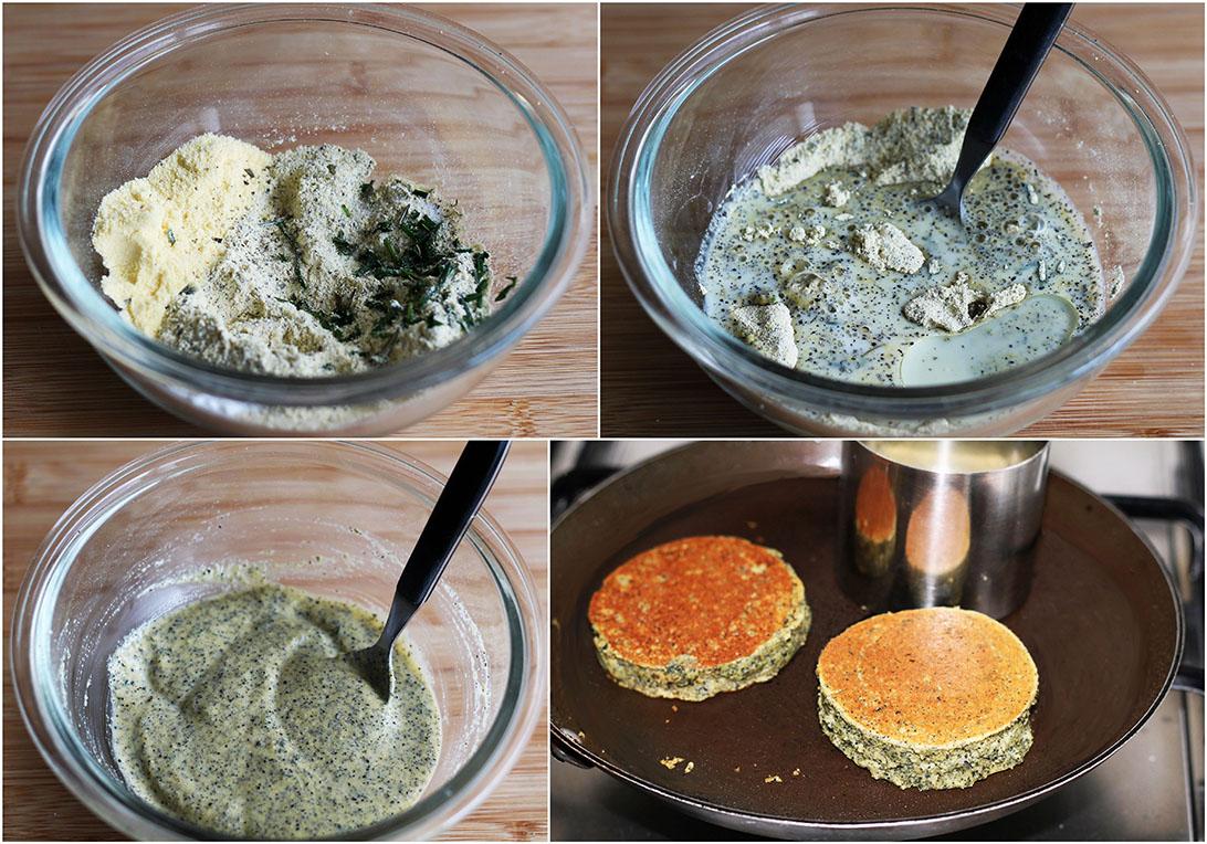 Burger senza glutine ai ceci neri e finta maionese - La Cassata Celiaca