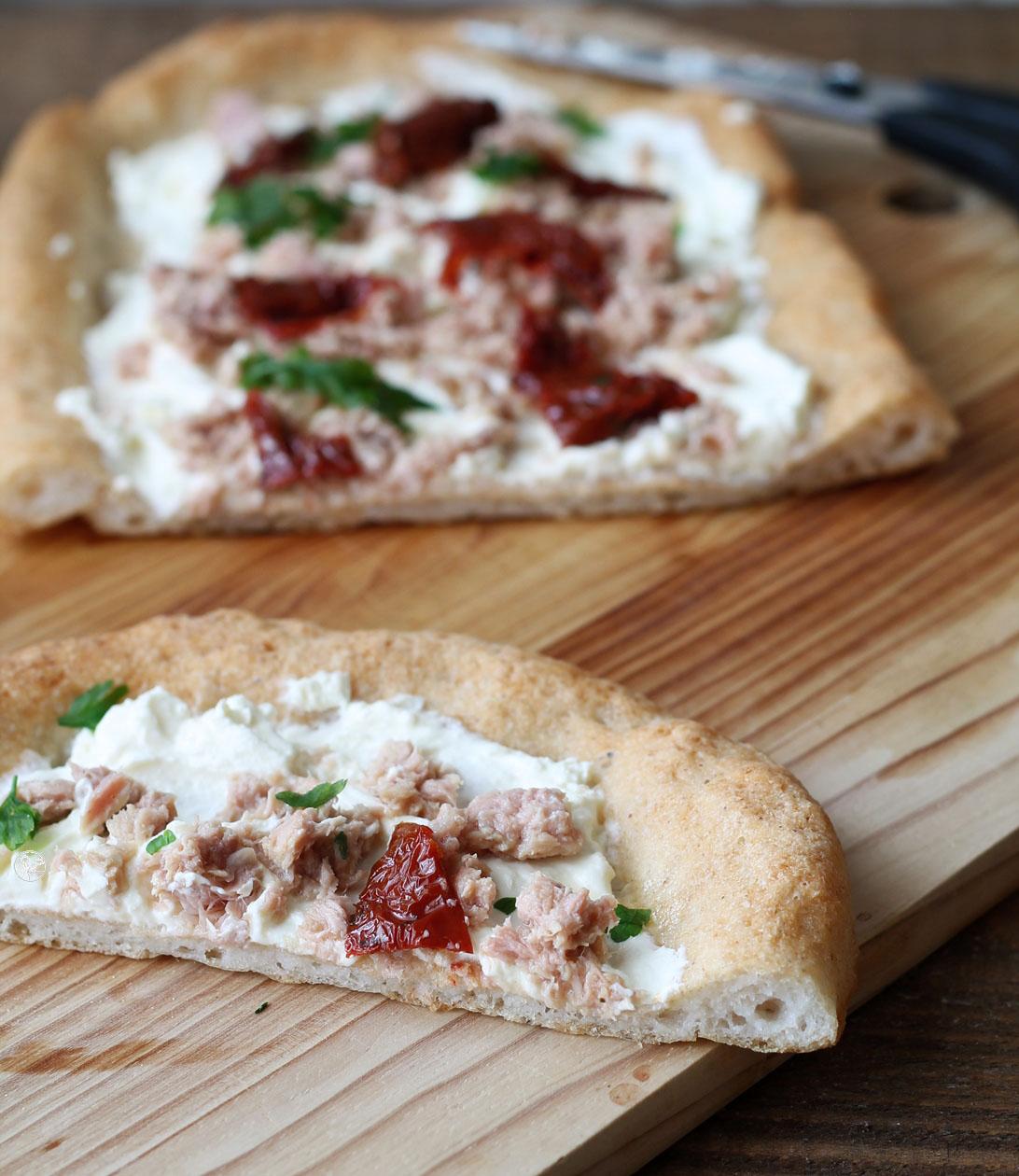 Pizza senza glutine, senza lattosio e senza mix commerciali - La Cassata Celiaca