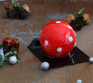 Sphère à la vanille et aux fruits de bois - La Cassata Celiaca