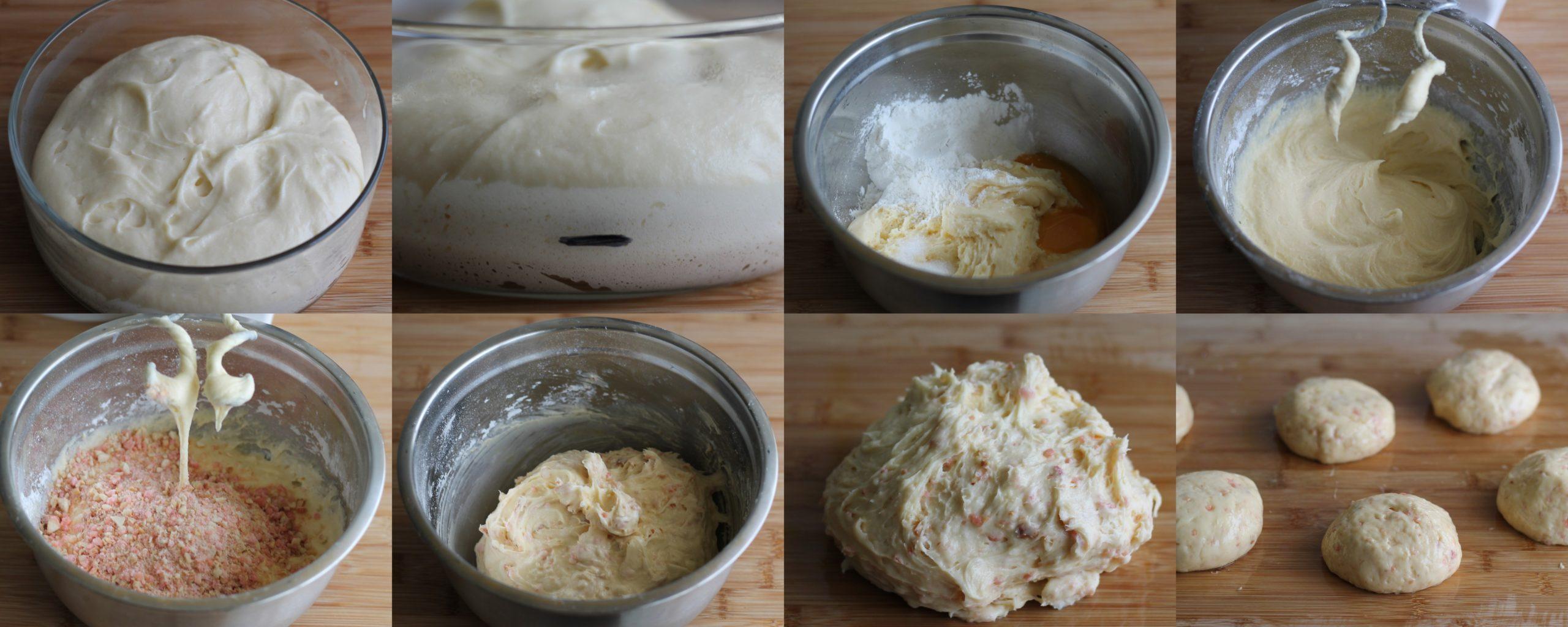 Panettoncini senza glutine alle praline rosa - La Cassata Celiaca