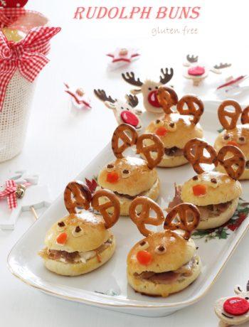 Rudolph buns, petits pains sans gluten - La Cassata Celiaca