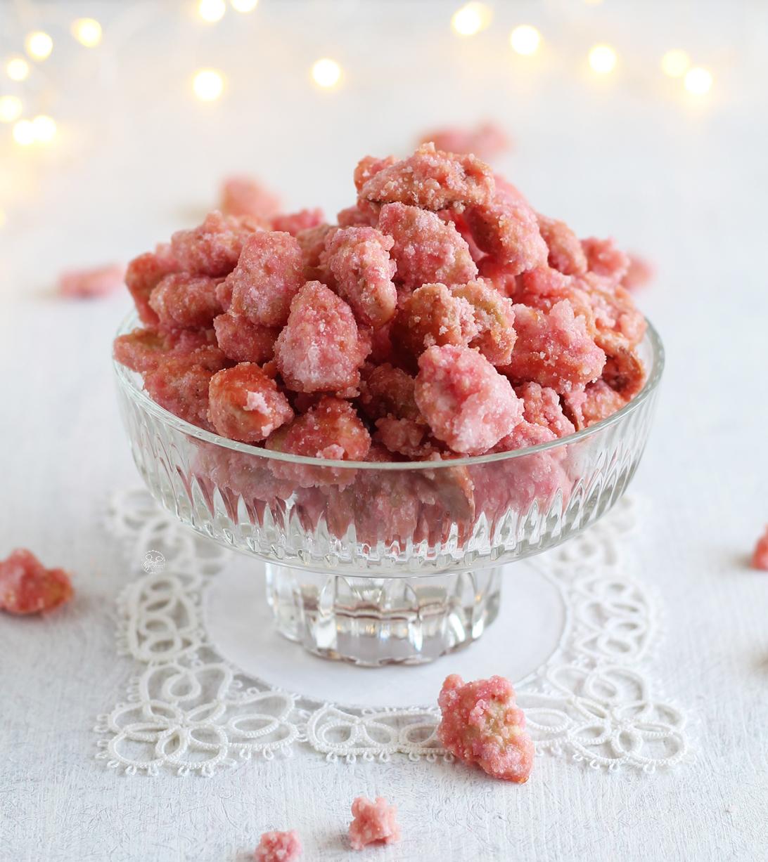 Praline rosa, mandorle sabbiate - La Cassata Celiaca