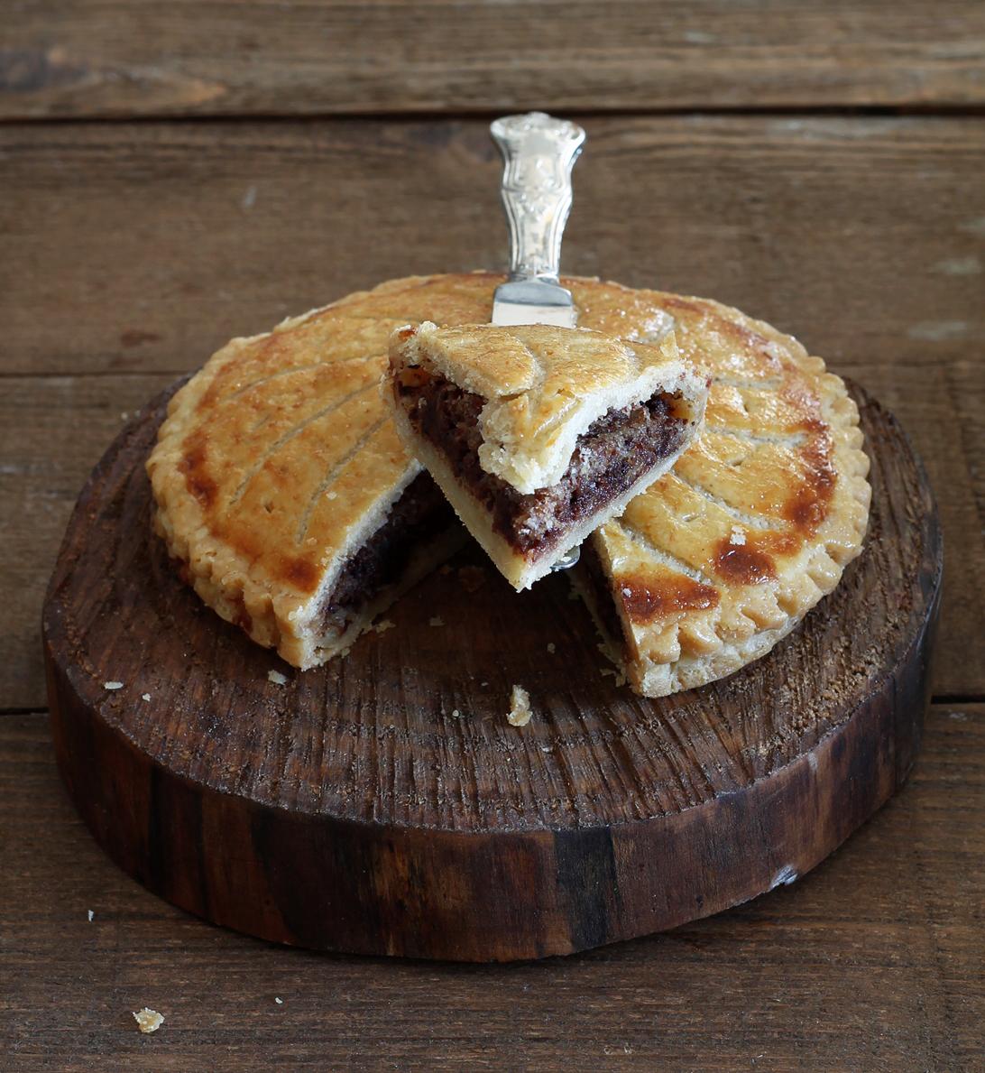 Galette de rois senza glutine al cioccolato - La Cassata Celiaca