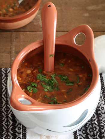 Harira, la zuppa marocchina senza glutine - La Cassata Celiaca